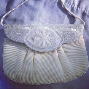 BAG SALE: vintage beaded evening bag
